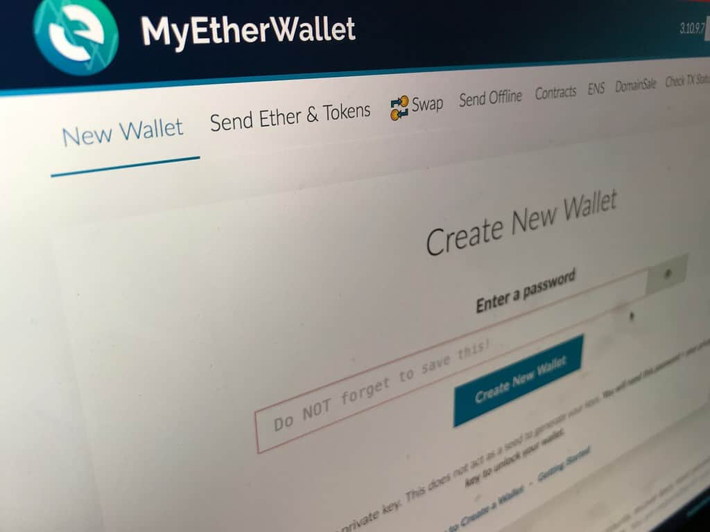 Create an Ether Wallet