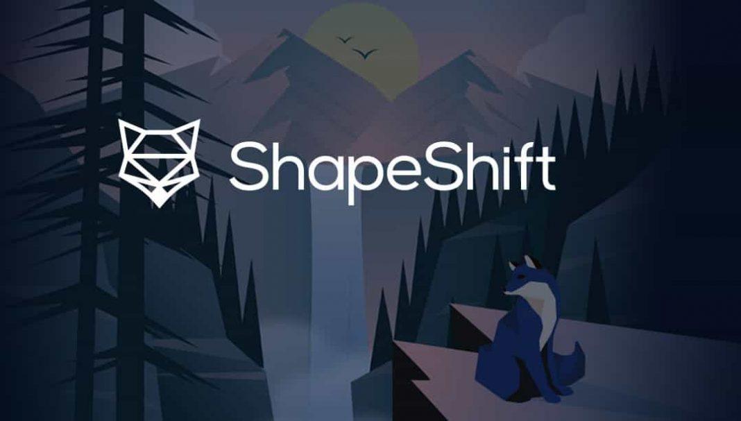 Shapeshift trading platform