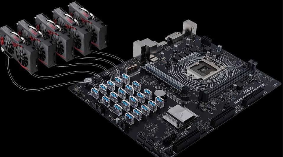 ASUS H370 Mining Master (20 GPU)