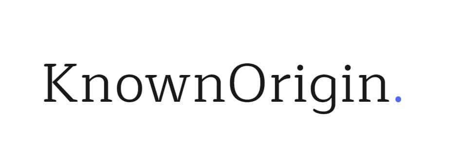 KnownOrigin: Unique Gallery For Crypto Artwork
