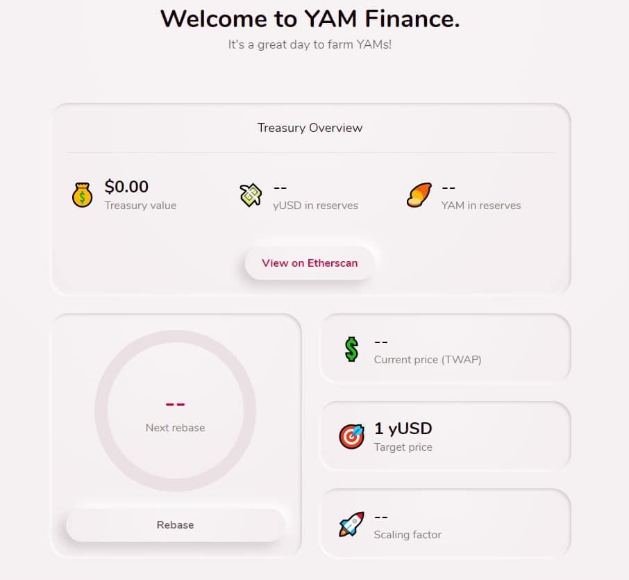 Yam finance Exchange